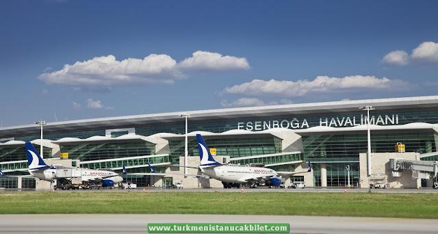 Ankara - Aşkabat Uçak Bileti