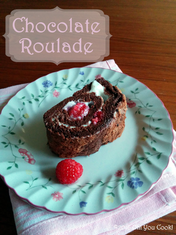 Light And Tasty Chocolate Roulade