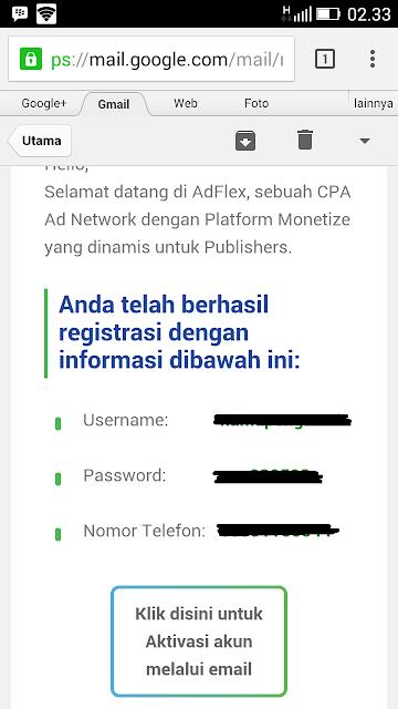 Menghasilkan Uang Dari AdFlex
