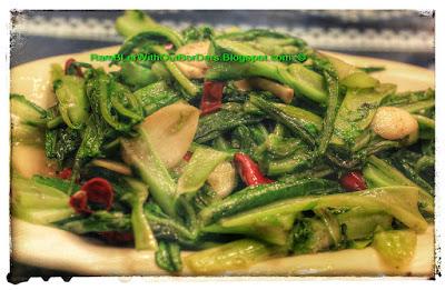 Leafy green veggie, Leshan, Sichuan, China