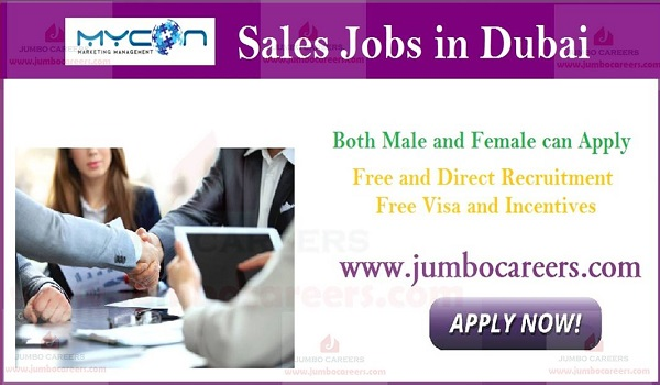 Recent Dubai   jobs with salary,  UAE jobs with free visa,