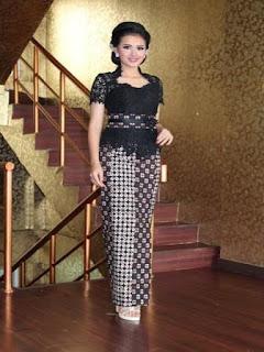 rok panjang batik model duyung murah