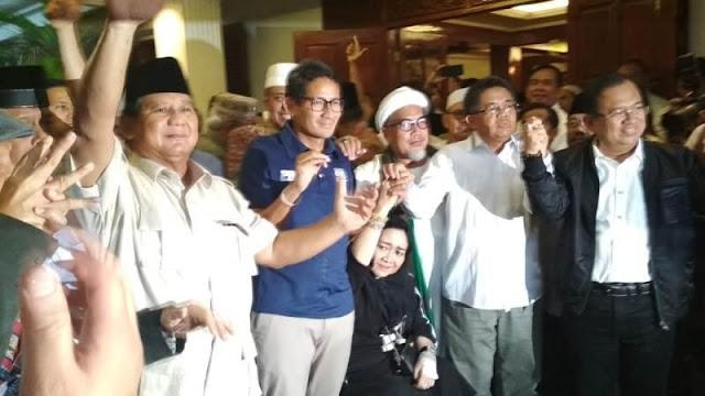 Real Count BPN Sudah 77.94 Persen, Prabowo-Sandi Unggul 63 Persen