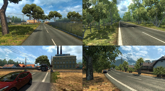 download Map Sumut v1.5 ets2 by Dicky Genk