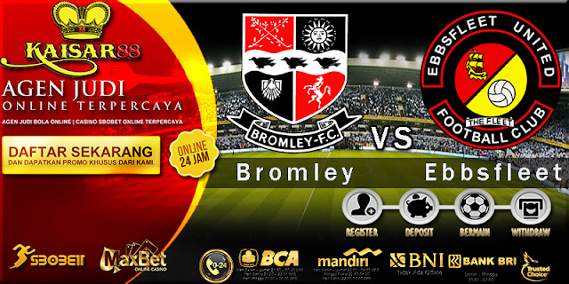 Prediksi Bola Jitu Liga Inggris Bromley vs Ebbsfleet United 2 Januari 2018