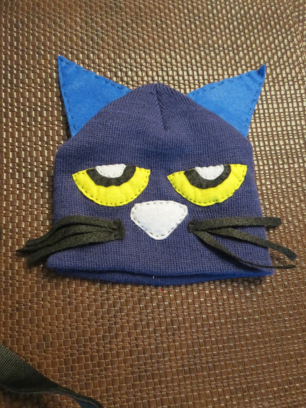 Twigs Off the Branches Easy DIY Pete the Cat Costume for Book Character Day & Twigs Off the Branches: Easy DIY Pete the Cat Costume for Book ...