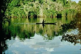 Habitante de la Amazonia Ecuatoriana