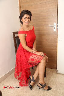 Actress Yamini Bhaskar Latest Pictures in Red Dress at 100 Days of Love Movie Audio Launch  0136.JPG
