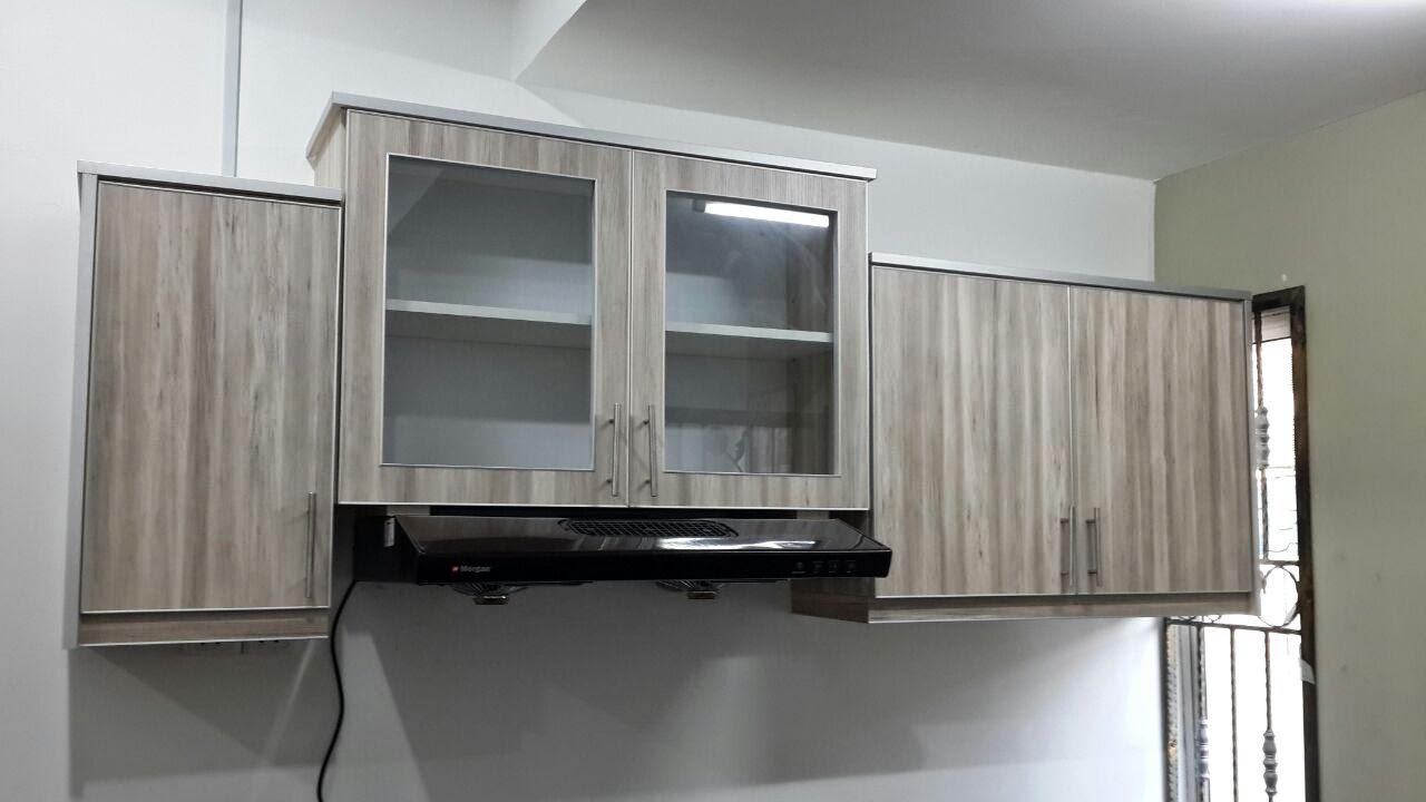 Material Yg Di Gunakan Utk Rumah Ni Adalah Spt Kayu Jenis Milamine Board Dan Kemaskini Aluminium Edging Mana Kala Handle Kami Pakai Bar