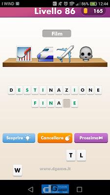 Emoji Quiz soluzione livello 86