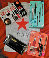 Black Friday haul 2016 Thanksgiving MACY'S Estee Lauder Clinique Smashbox eyeshadow mascara eyeliner lipstick lipgloss review