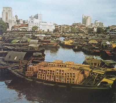 Foto Pelabuhan di Singapura