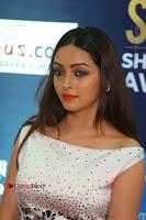 Actress Pooja Salvi Stills in White Dress at SIIMA Short Film Awards 2017 .COM 0167.JPG