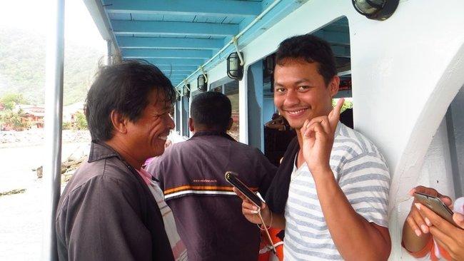 Улыбчивые тайцы
