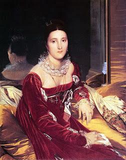 Jean-Auguste-Dominique Ingres - Marie Marcoz (later Vicomtesse de Senonnes)