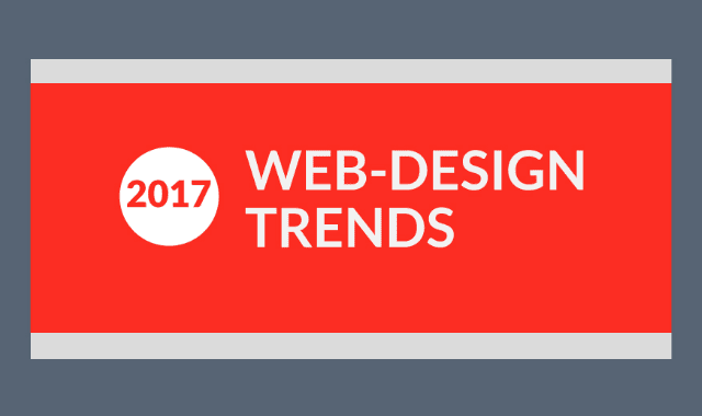 2017 Web-Design Trends