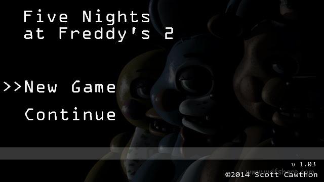 Five Nights at Freddy's 2 game horror terbaru untuk android mu, siapa pemberani disini? silakan download gamenya