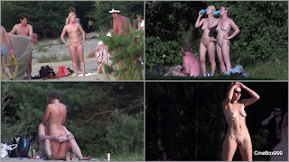 Moscow Nudists in Serebryanny Bor. Part-4.