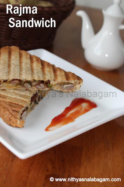 Rajma sandwich