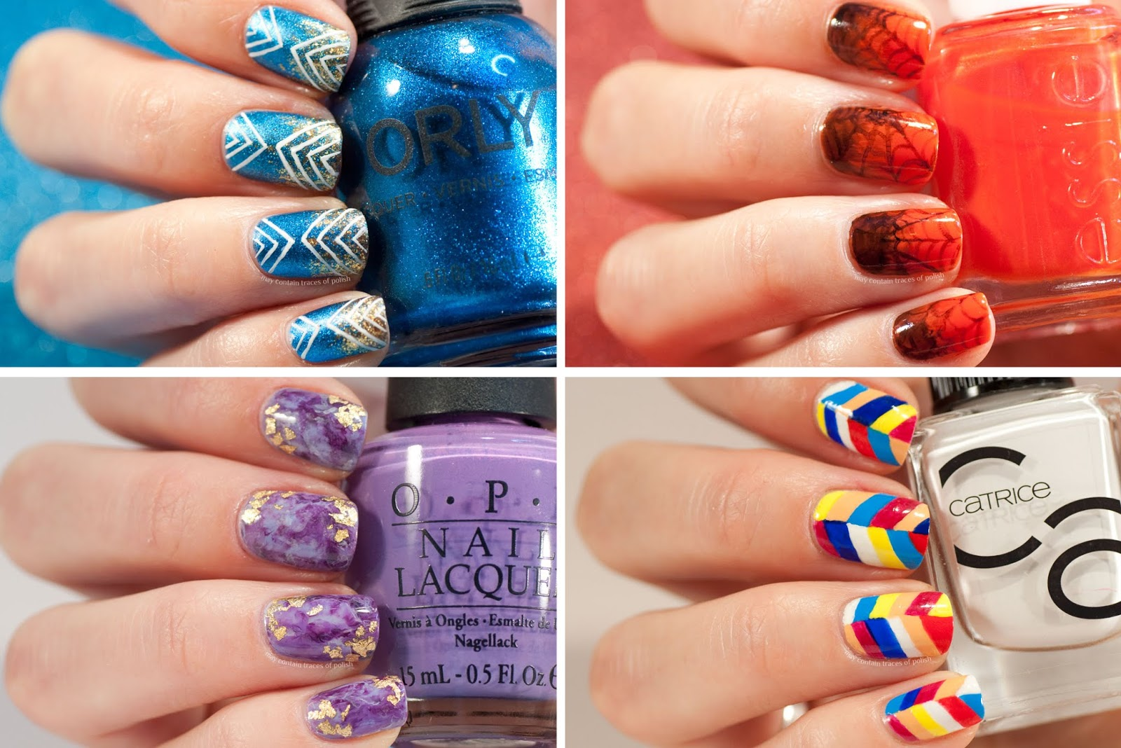 31 Day Challenge: All nail art summary post