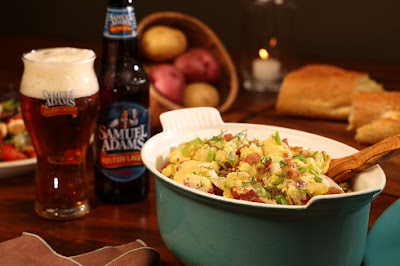 Potato Salad with Boston Lager Dressing Recipe