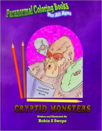 Pastor Swope's Cryptid Monsters Coloring Book