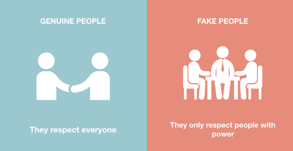 Differences Between Authentic People And Fake People. Do Not Be Fooled