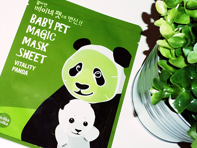 Holika Holika maseczka panda recenzja