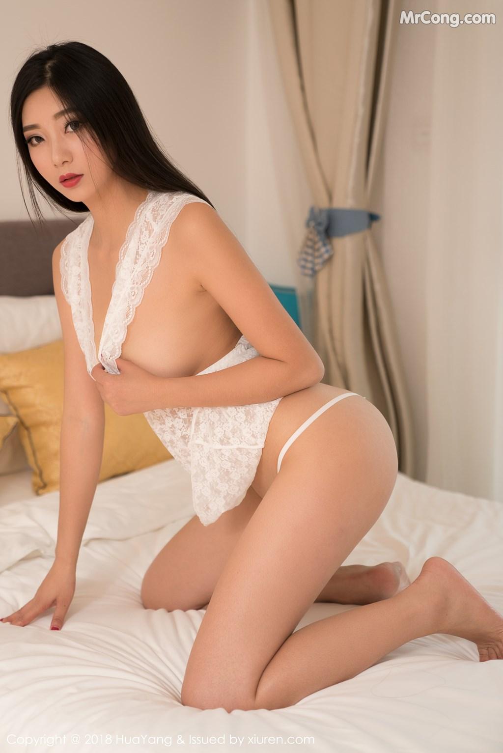 Image HuaYang-2018-02-28-Vol.033-KiKi-MrCong.com-004 in post HuaYang 2018-02-28 Vol.033: Người mẫu 宋-KiKi (42 ảnh)