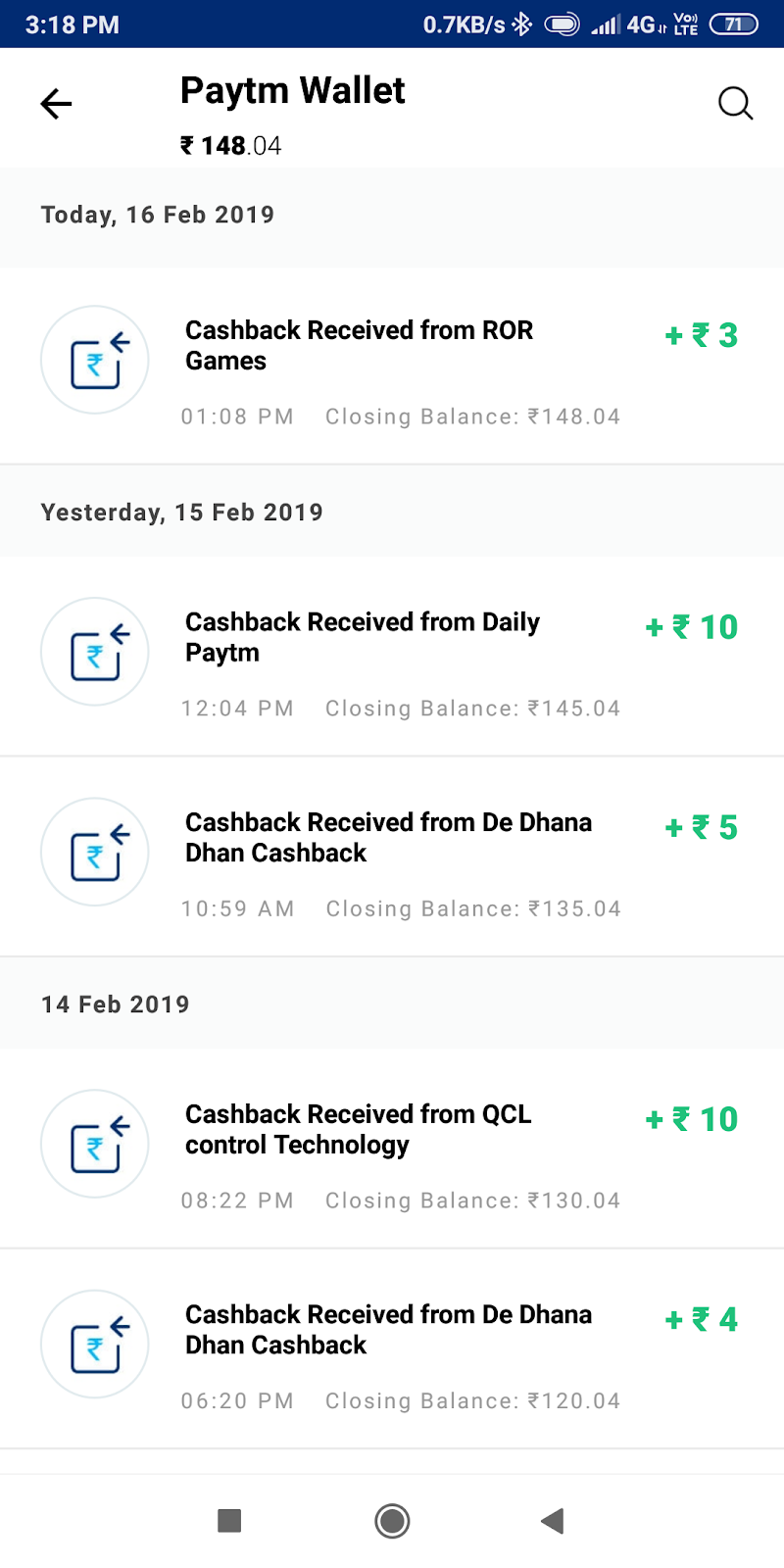 Latest paytm self earning apps, no sharing, no invest, no