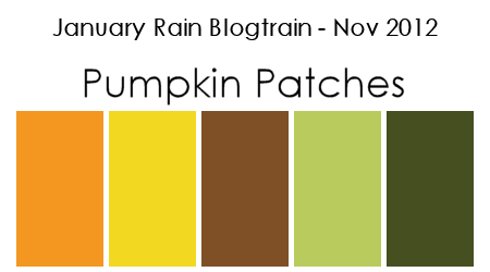 January Rain Blogtrain: November 2012 Color Palette