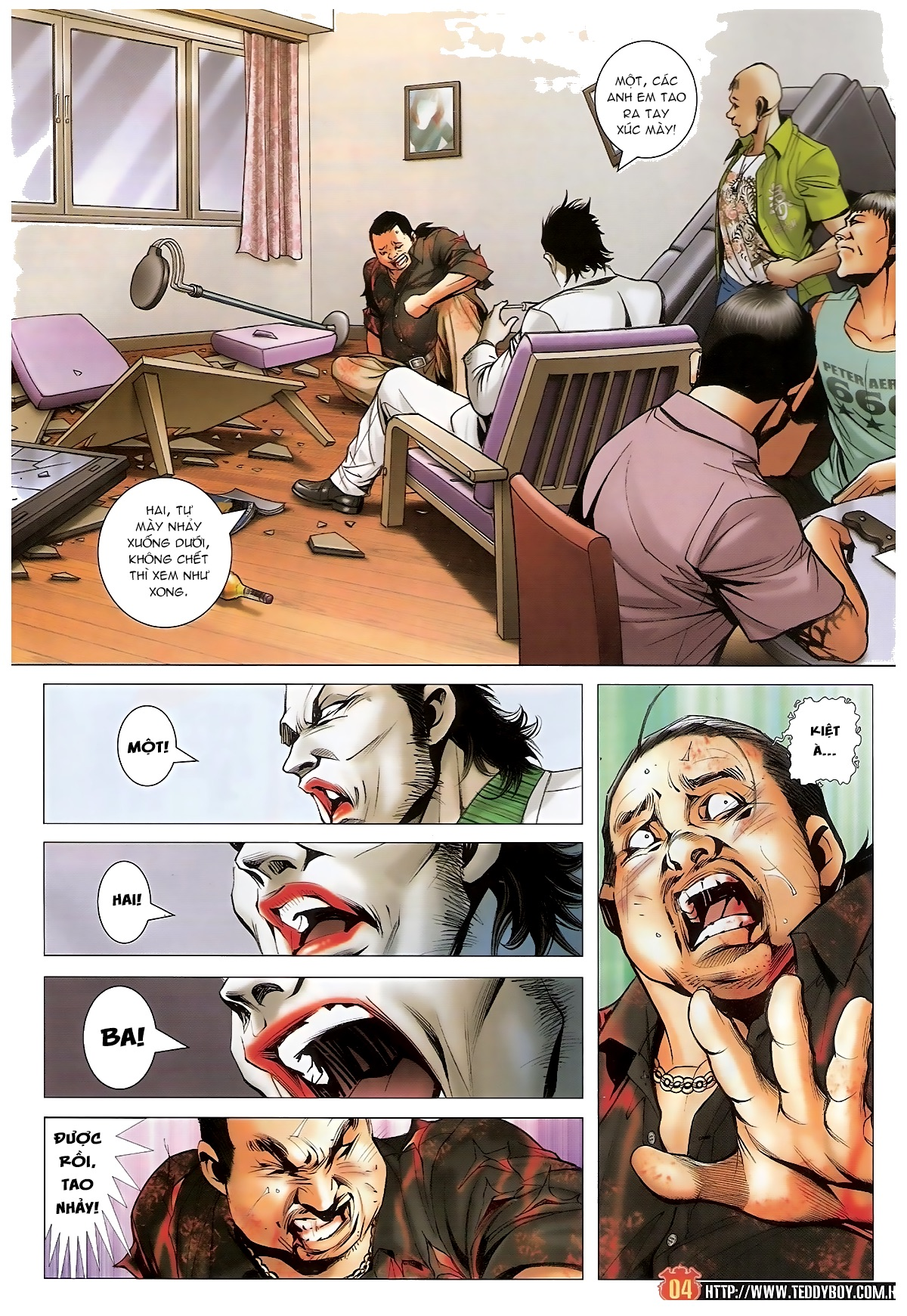 Người Trong Giang Hồ - Chapter 1545: Mượn dao giết người - Pic 3