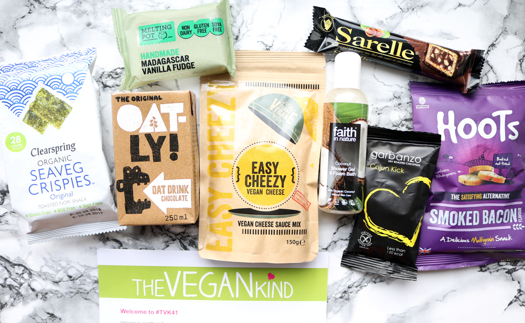 The Vegan Kind Box - March 2017 review