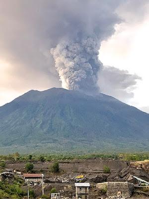 bali volcanic mountain