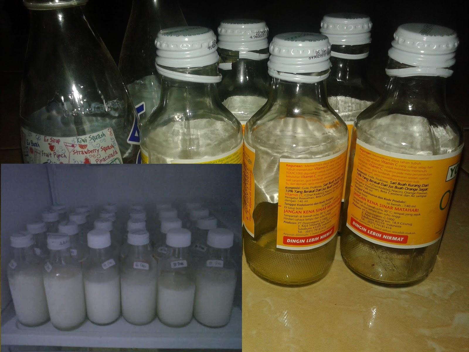 Botol Bekas Aman Untuk Menyimpan ASI  SAKARAN