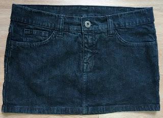 minissaia jeans Triton M