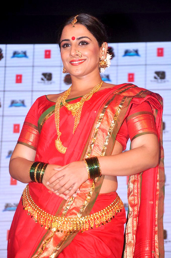 Filmee Club Vidya Balan Lavani Performance To Promote -8986