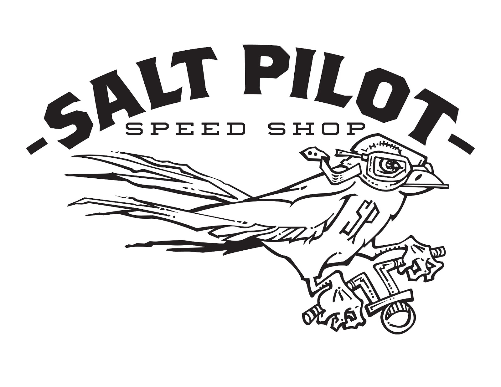 J R Mounger Artist And Designer Salt Pilot Speed Shop
