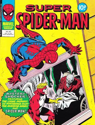 Super Spider-Man #301, the Angel
