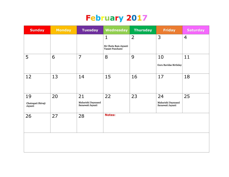printable calender regional holiday printable calendar 2017