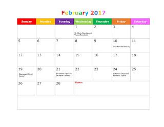 Free printable Calendar 2017, Holidays Calendar 2017, Regional Holidays 2017, Yearly Holidays 2017