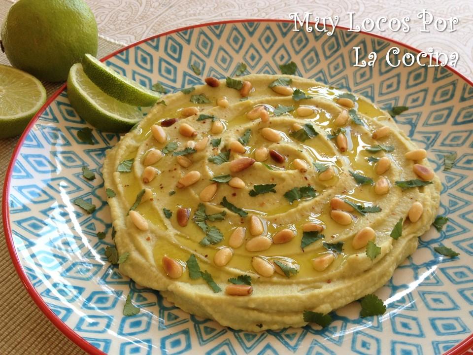 Hummus de Aguacate y Lima