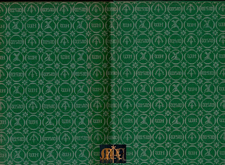 Cakes and Ale 1936 Heinemann Pocket Edition - W. Somerset Maugham, endpapers