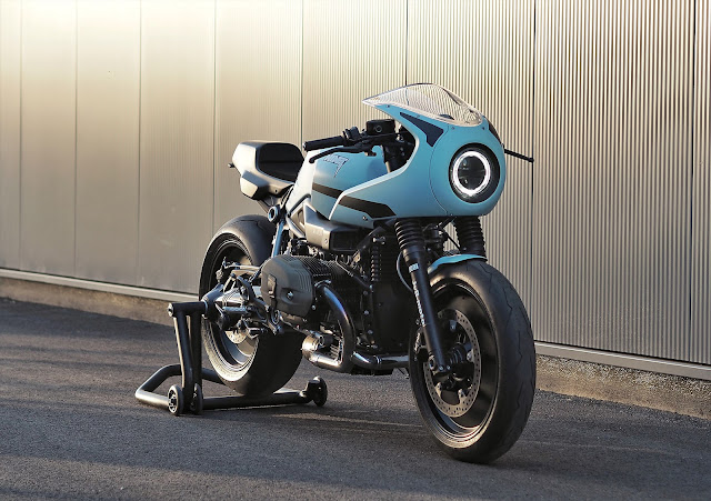 BMW R Nine T By JvB Moto Hell Kustom