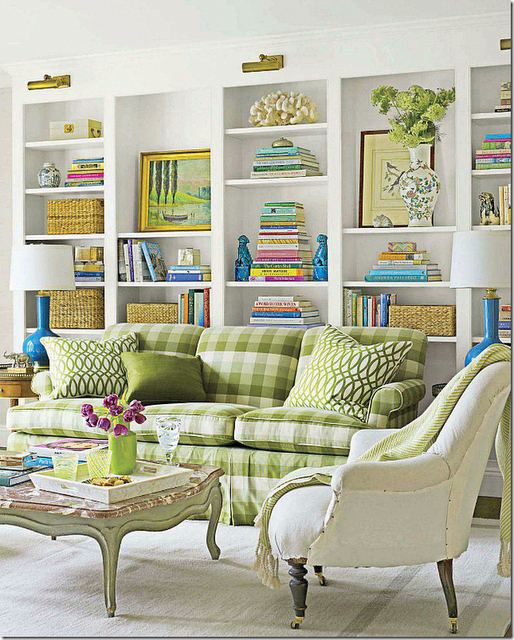 Chinoiserie Chic: The Green Chinoiserie Living Room