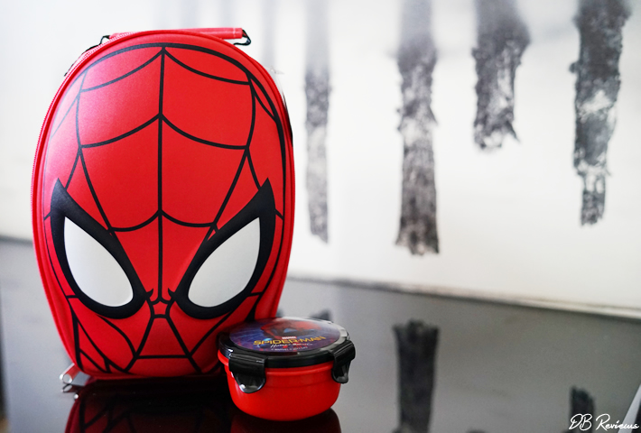 Spiderman lunch ware