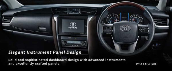 Interior All New Toyota Fortuner