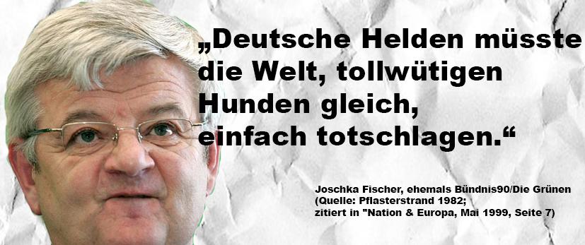 Joschka Fischer Zitat