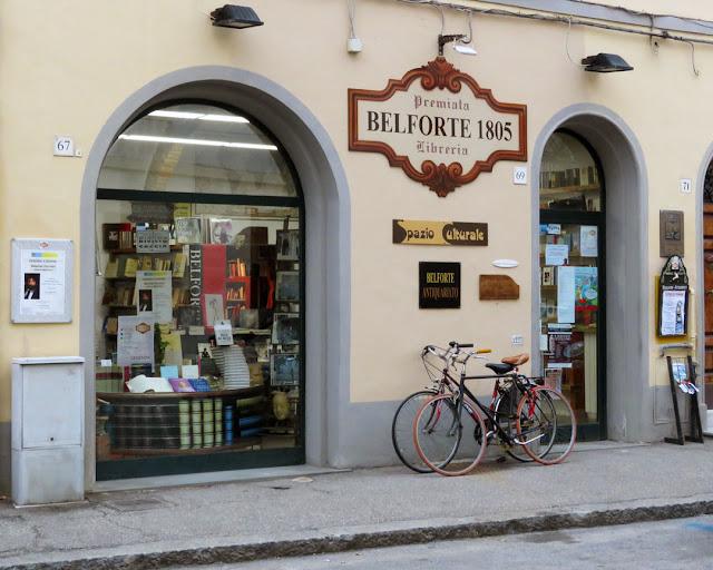 Belforte bookshop, Via Roma, Livorno