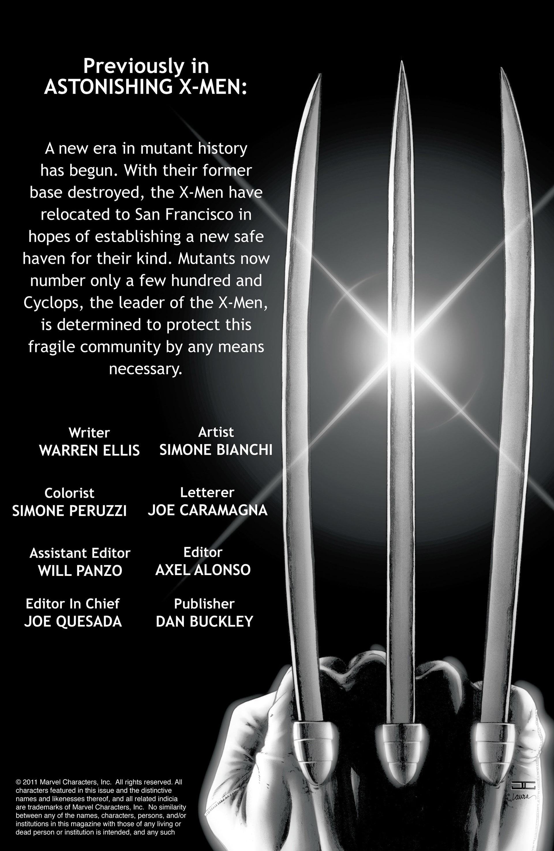 Read online Astonishing X-Men (2004) comic -  Issue #25 - 2